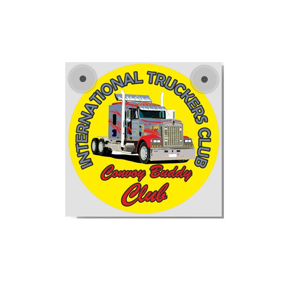 Light Box 12-24 Volt ´International Truckers Club´