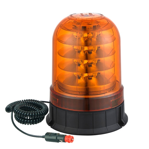 Roterande LED ljus med magnet