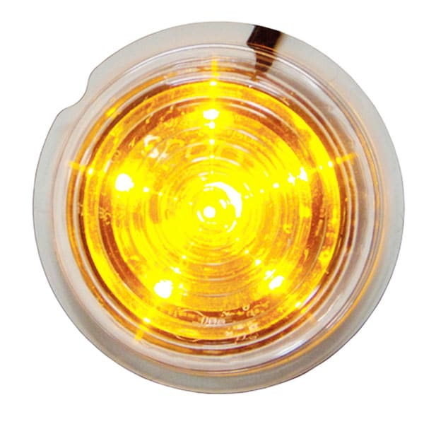Viking LED Sidomarkeringsljus orange 12-24V
