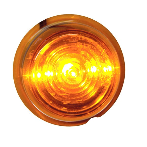 Viking LED Sidomarkeringljus orange 12-24V