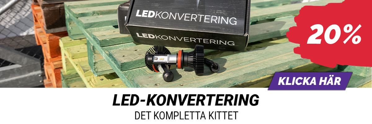 Rea på LED-konvertering!