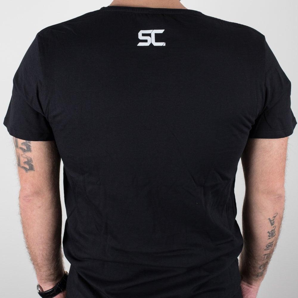 T-shirt SC ROYL Svart