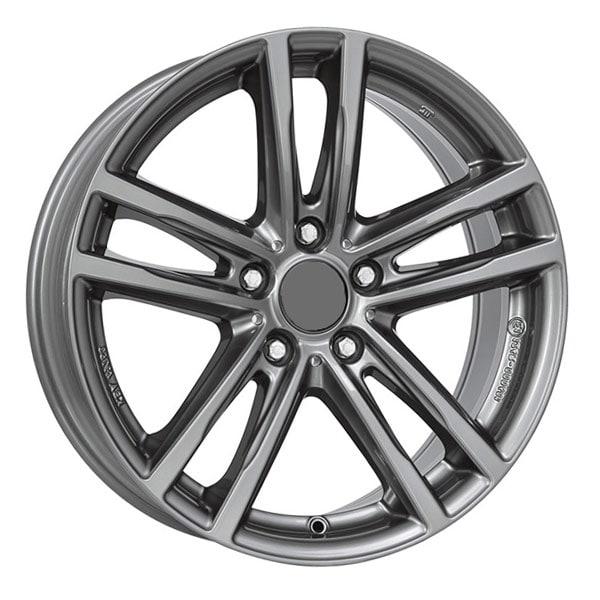 Alutec X10 Metal-Grey Fälgpaket Vinter