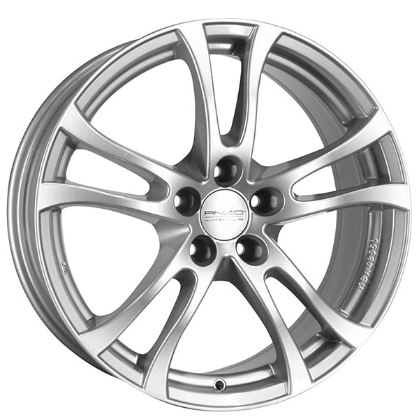 Complete Winter wheel set of Anzio Turn Silver