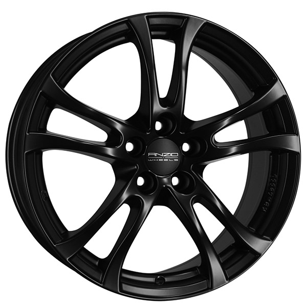 Complete Winter wheel set of Anzio Turn black