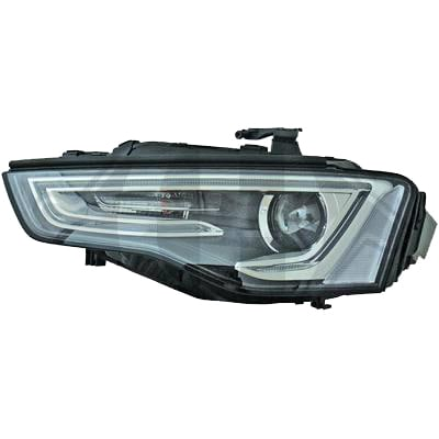 Headlights left Audi A5