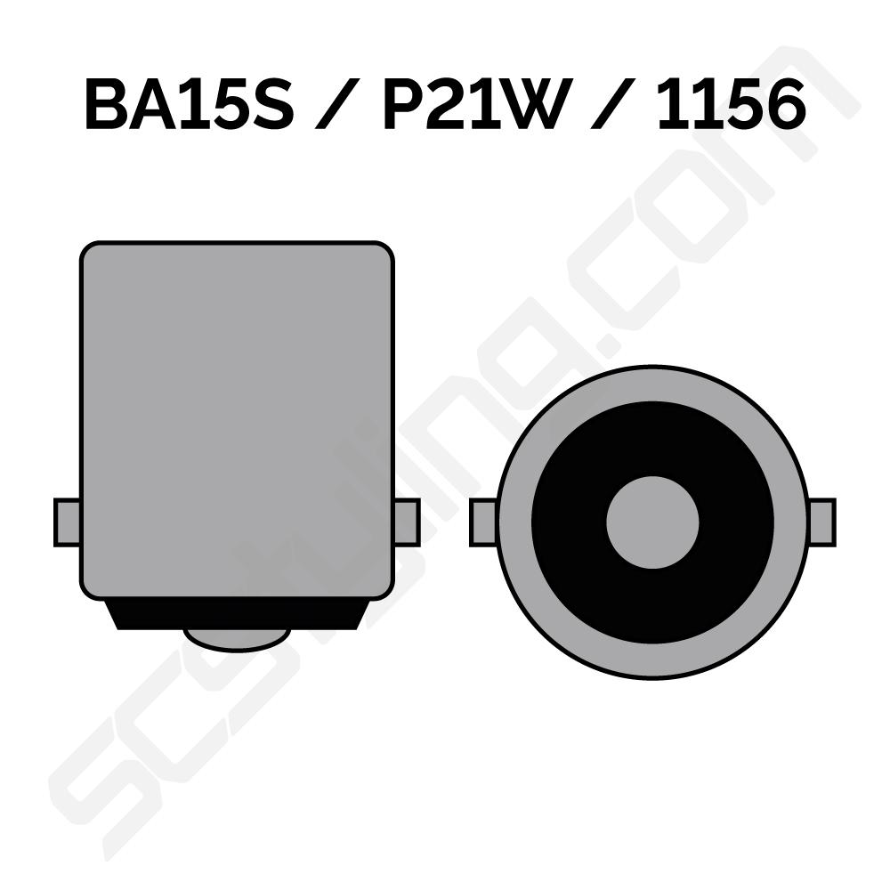 Lampa BA15S LED Extra stark (P21W) - SC