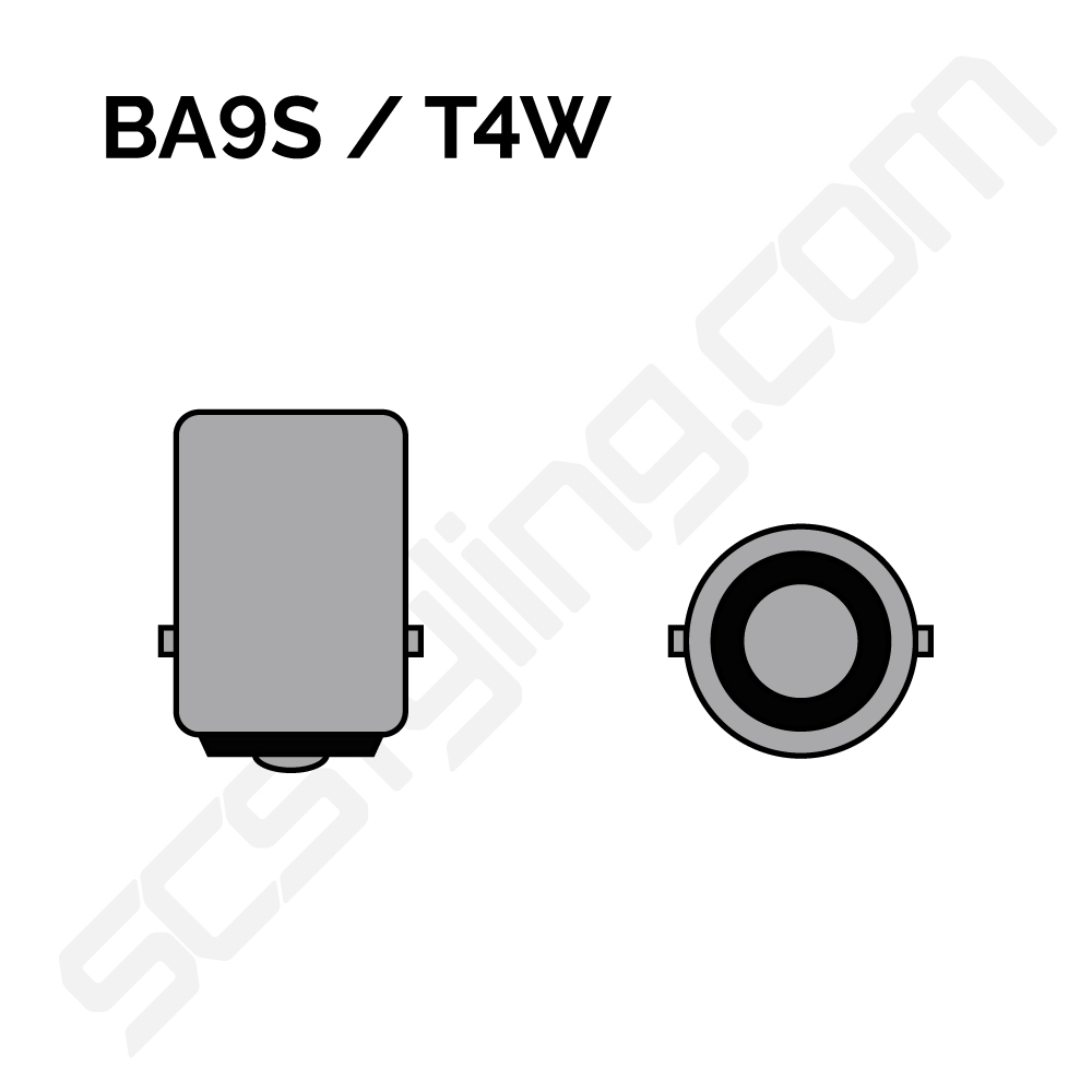 BA9s sockel för 12V