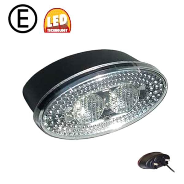 Backlampa Oval LED 12-24V