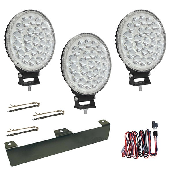 "3-pack Extraljus Boda 9"" LED - SLD"