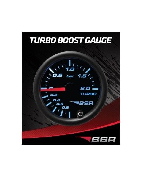 Turbotrycksmätare -1.0-2.0 bar