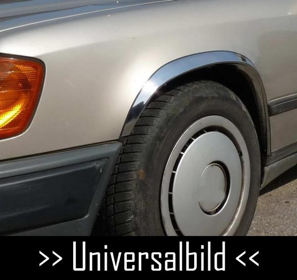 Skärmkantlister i krom Mercedes CL-klass W215