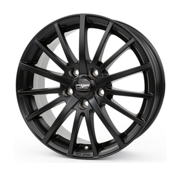 Complete Winter wheel set of CMS 16 Black