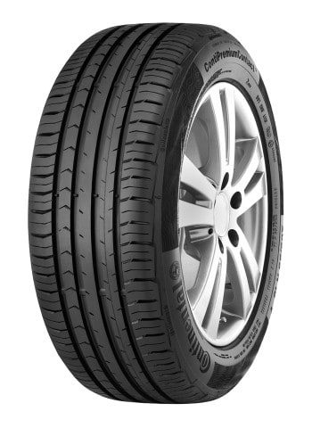 Complete wheel set of  Continental ContiPremiumContact5