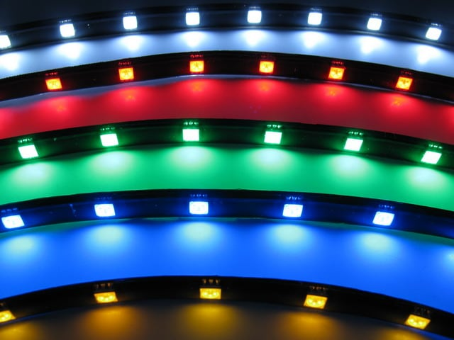 LED Slinga / LED Strip för bilen - 12V