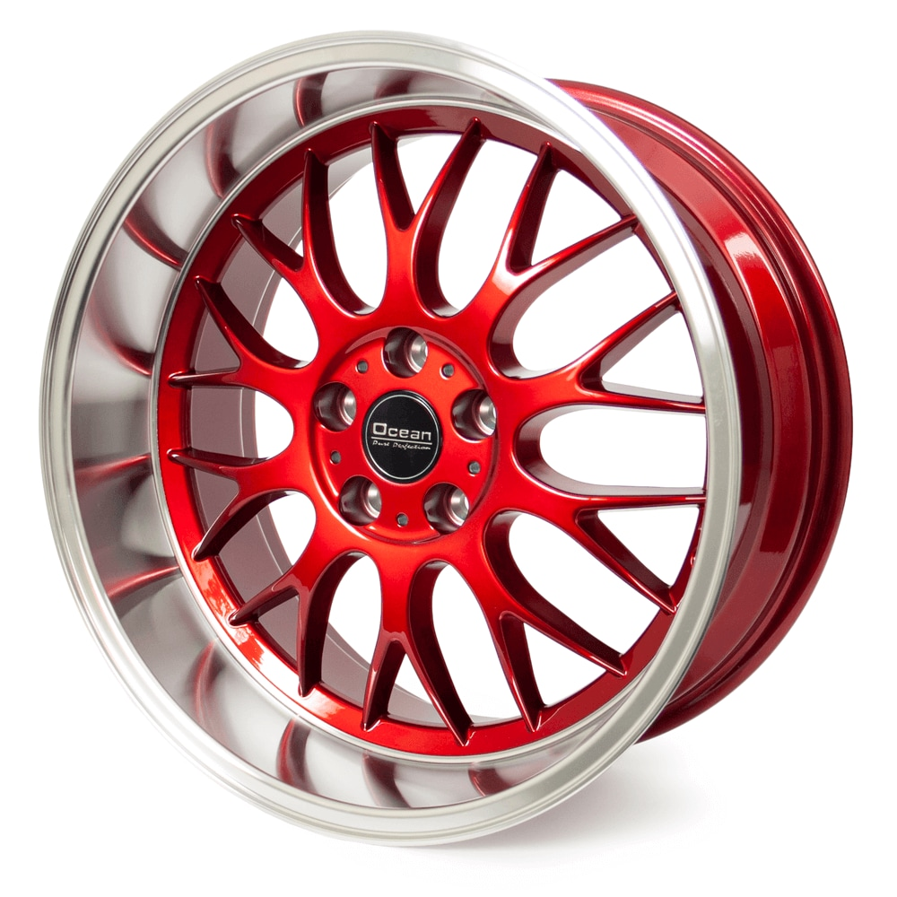 Ocean DTM Platinum Red 8,5*18 5/108 ET6