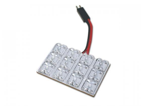 LEDplatta med 12st dioder