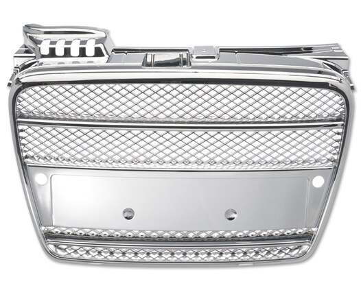 Chromed Grill without badge Audi A4
