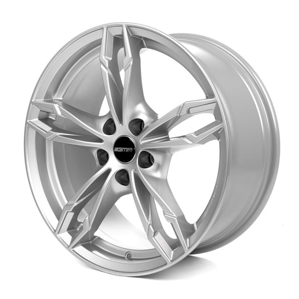Complete set of GMP Dea Silver Winter wheels