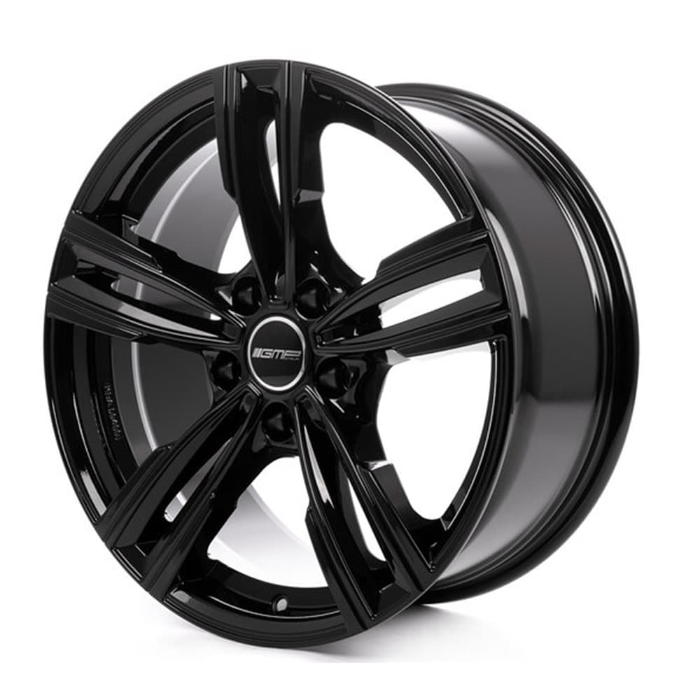 Complete set of GMP Reven Black Winter wheels
