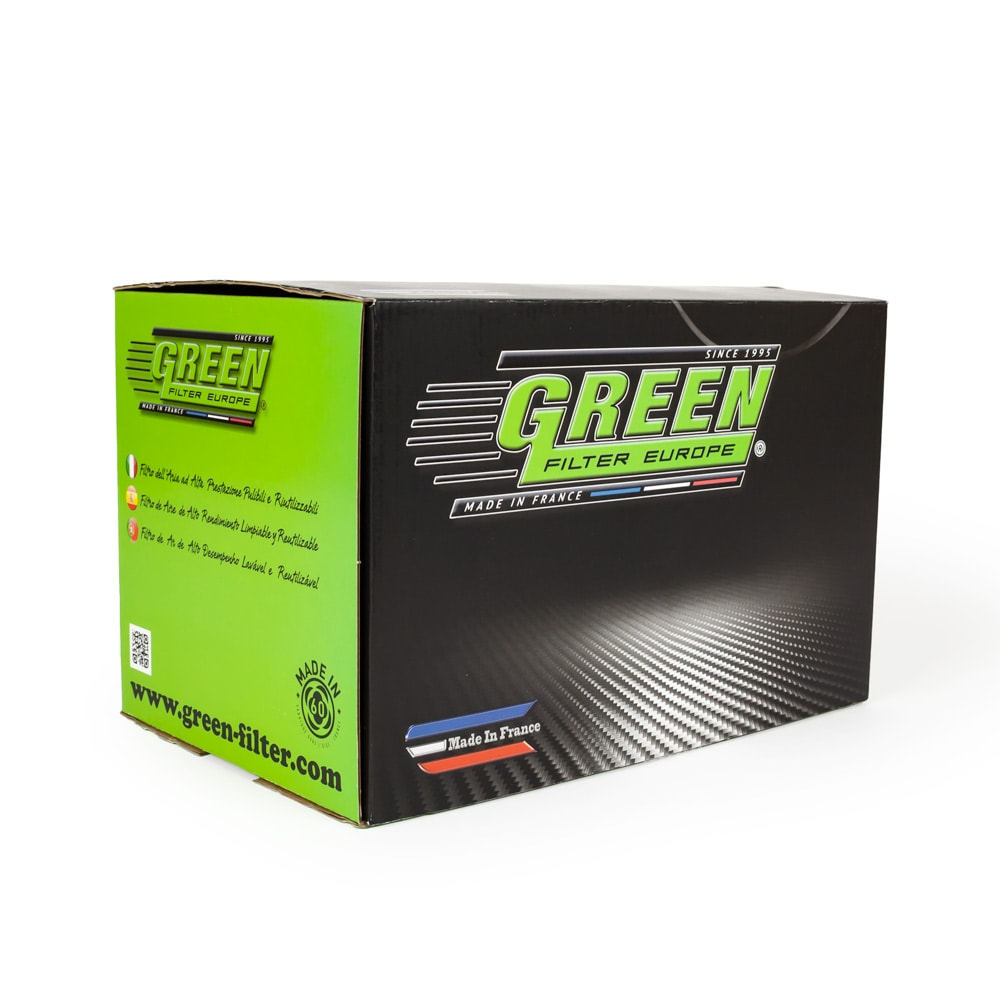 Green-Cotton Universal Sportluftfilter 150mm