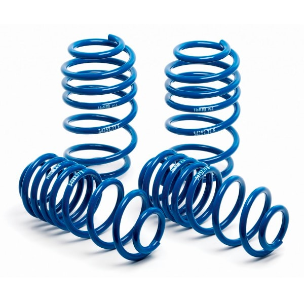 H&R lowering springs Mercedes Benz GT and GTS
