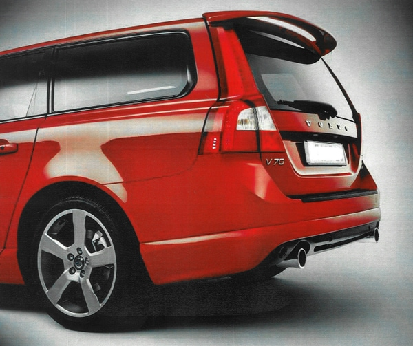 Vinge Original utförande Volvo V70