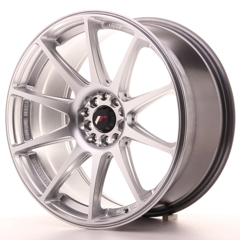 Complete wheel set of  JR11 Silver