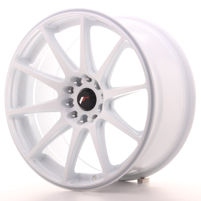 Complete wheel set of  JR11 White