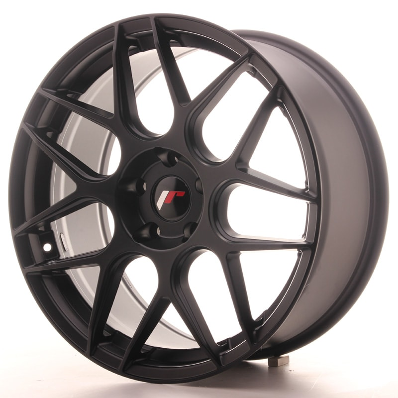Complete wheel set of  JR18 Black