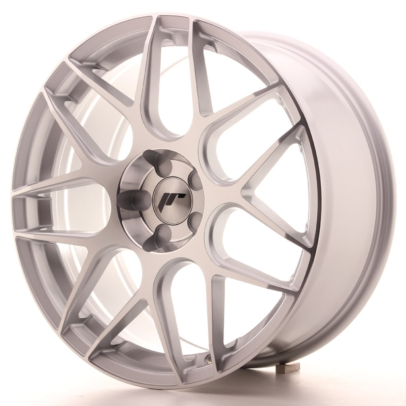 Complete wheel set of  JR18 Silver