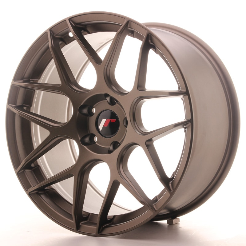 Complete wheel set of  JR18 Bronze