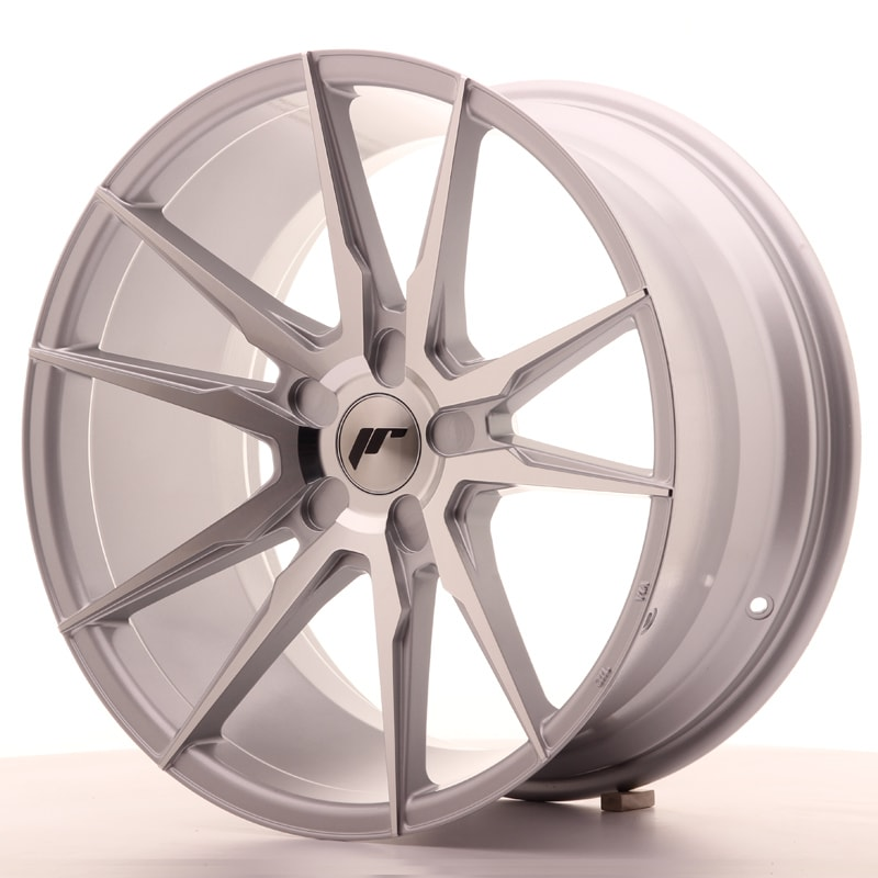 Complete wheel set of  JR21 Silver