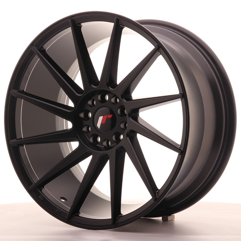 Complete wheel set of  JR22 Black