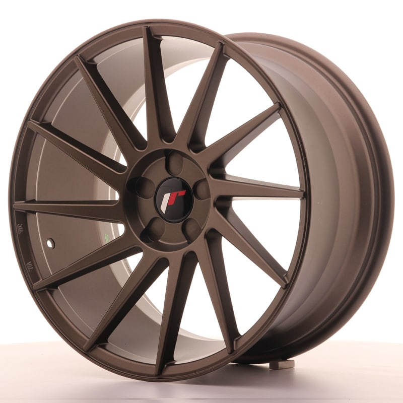 Complete wheel set of  JR22 Bronze