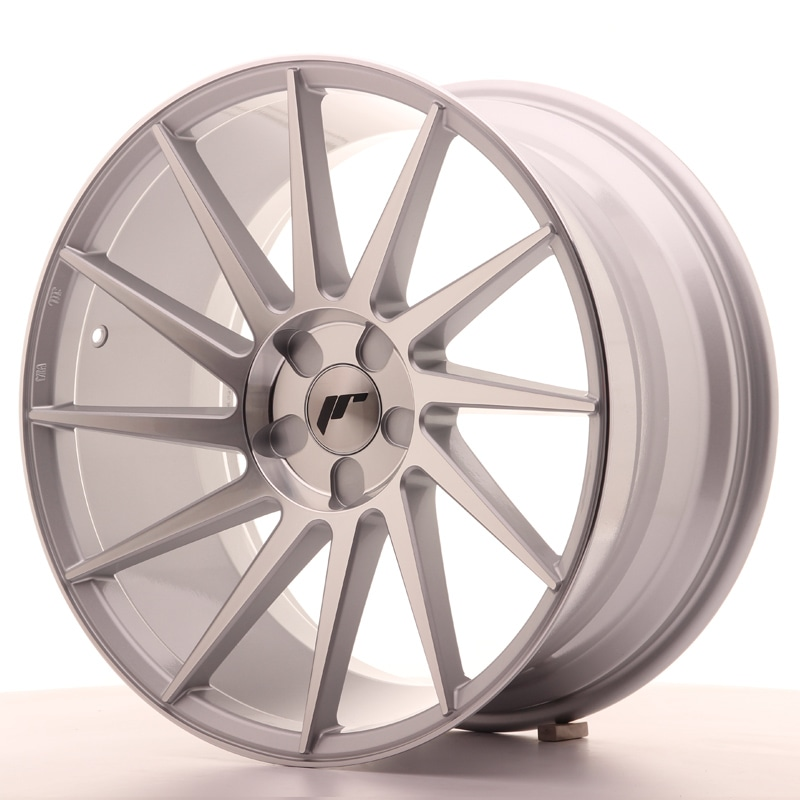 Complete wheel set of  JR22 Silver