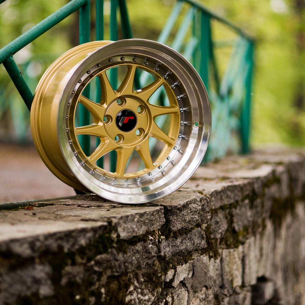 Complete wheel set of  JR26 Gold
