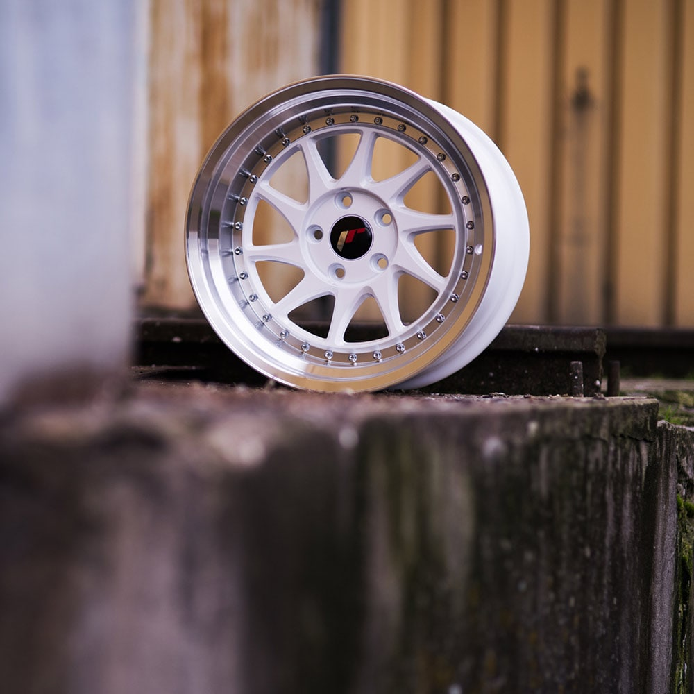 Complete wheel set of  JR26 White