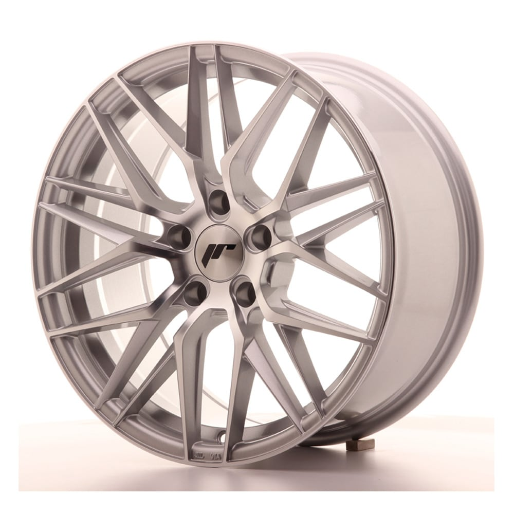 Complete wheel set of  JR28 Silver