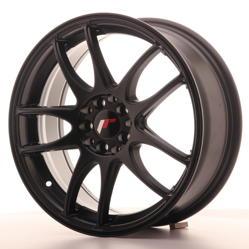 Complete wheel set of  JR29 Matt black
