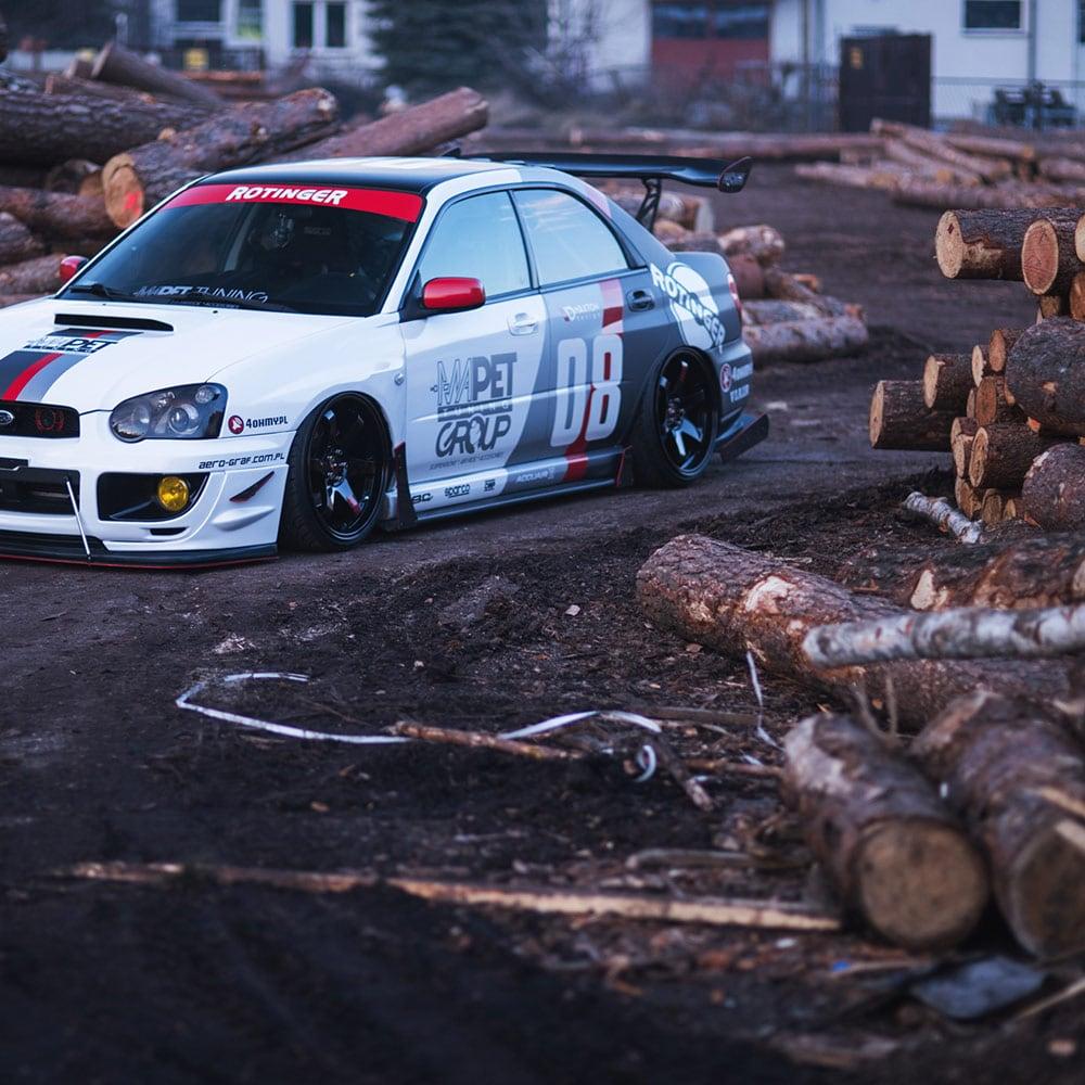 Japan Racing JR3 Mattsvart