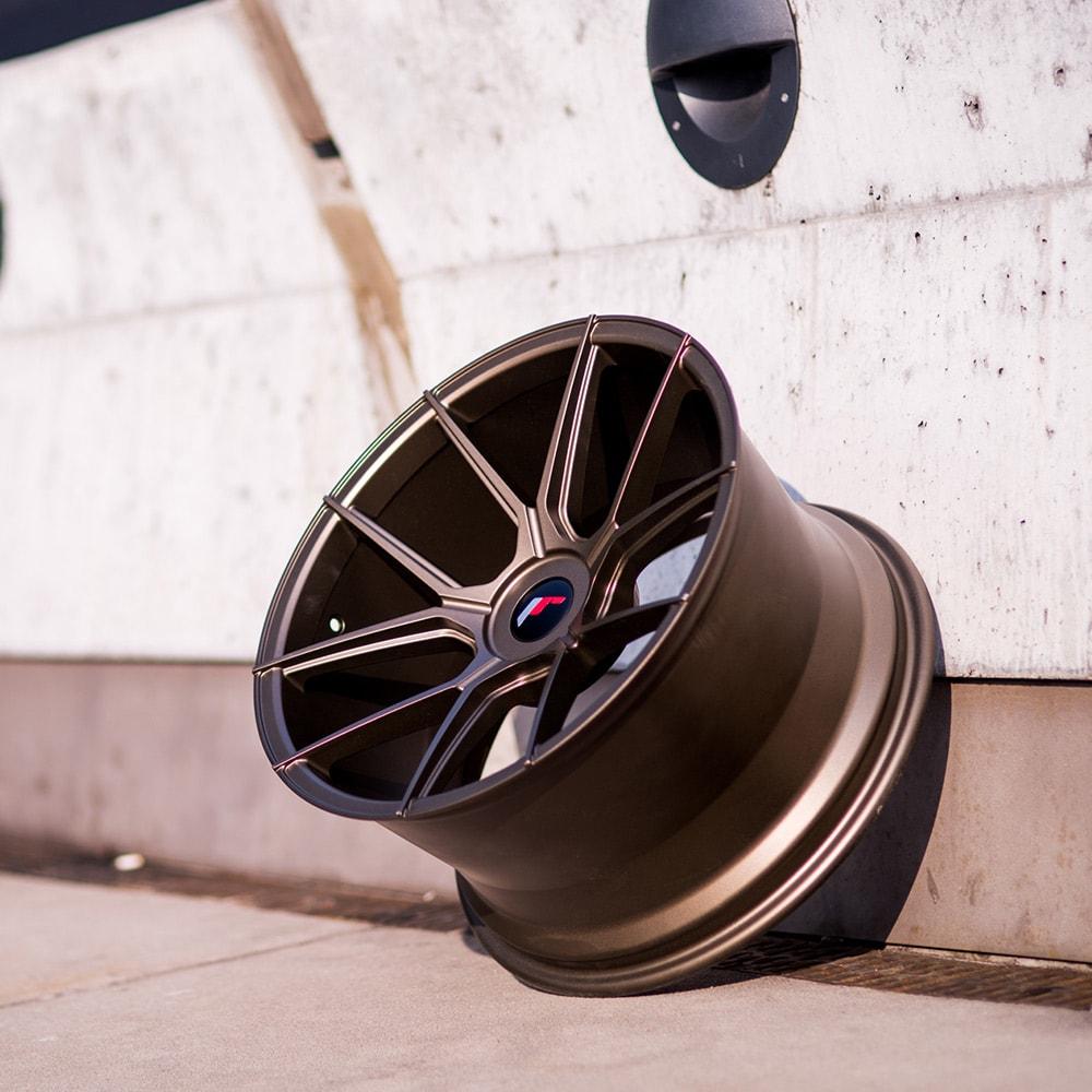 Complete wheel set of  JR30 Bronze