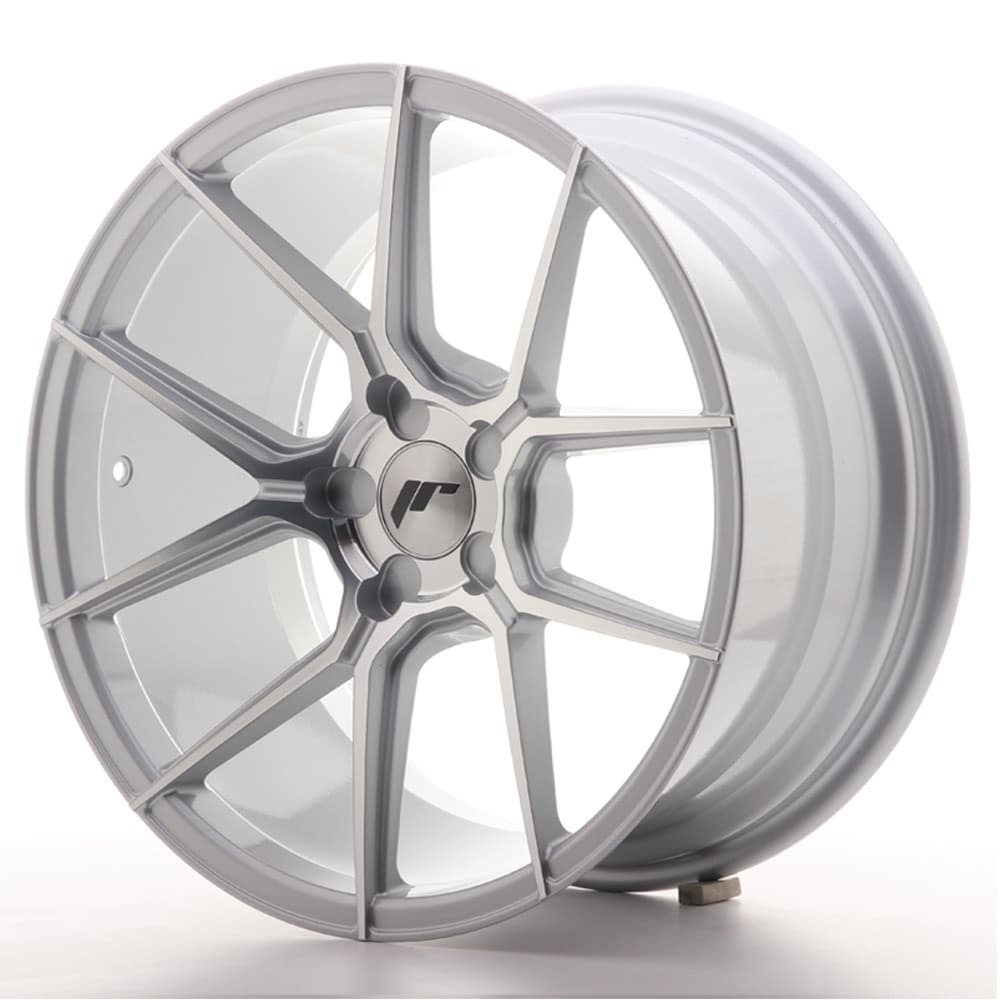 Complete wheel set of  JR30 Silver