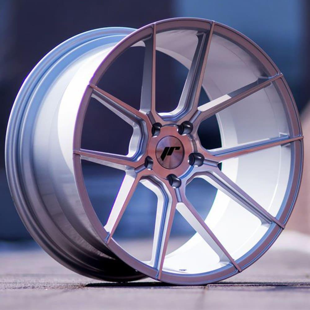 Complete wheel set of  JR30 Silver