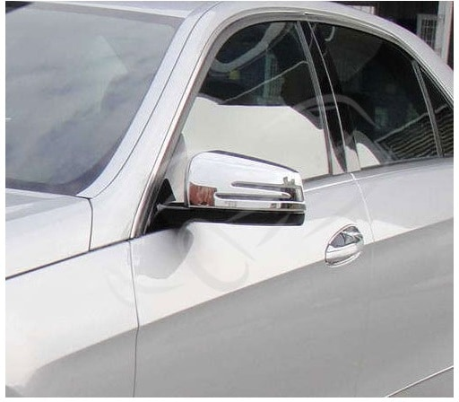 Mirror covers Chrome Mercedes