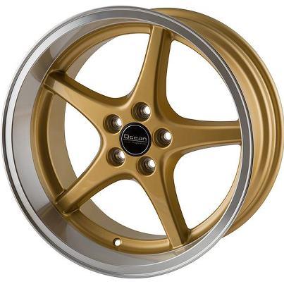 Ocean MK18 Guld Fälgpaket