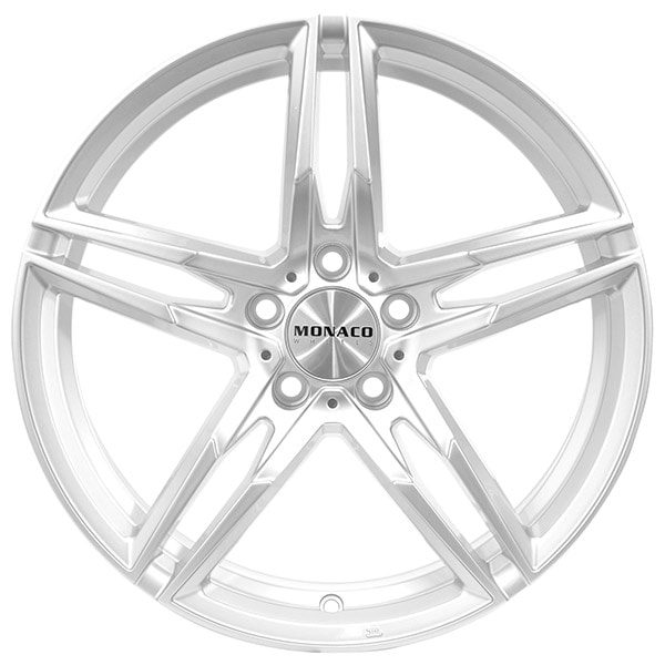 Complete Winter wheel set of Monaco Grand Prix Silver