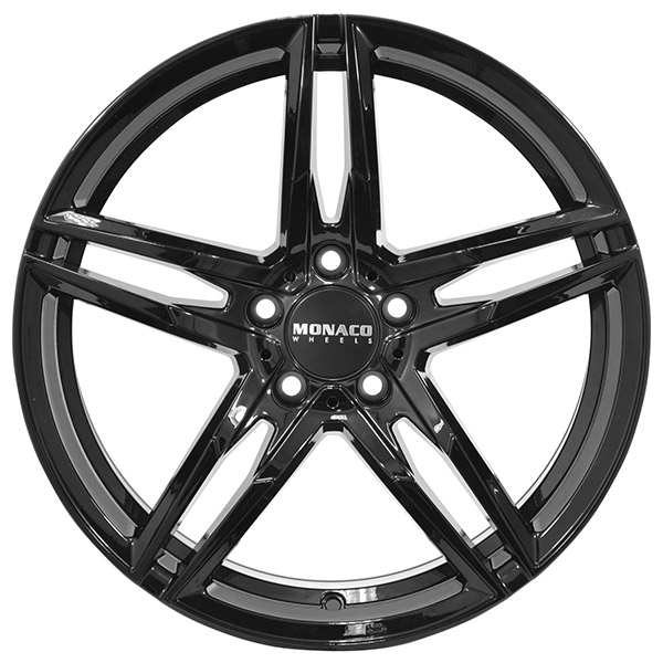 Complete Wheel set of Monaco Grand Prix Black VINTER