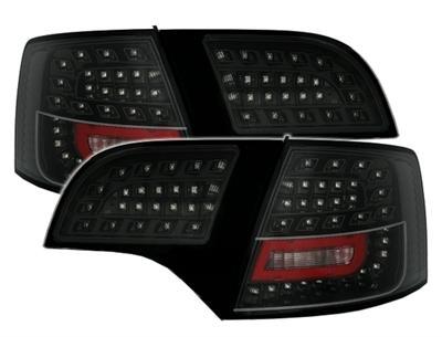LED Rear lamps Black Audi A4 A