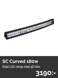 Sc Curved LED-Ramp 180W